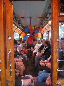 Festivitas i vogn 70