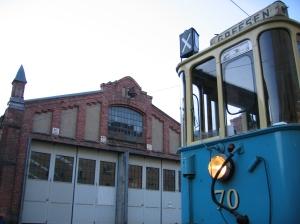 Vognhall 5 og SS-vognene er 100 år i 2013!