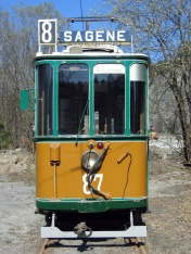 Vogn 87 på Vinterbro